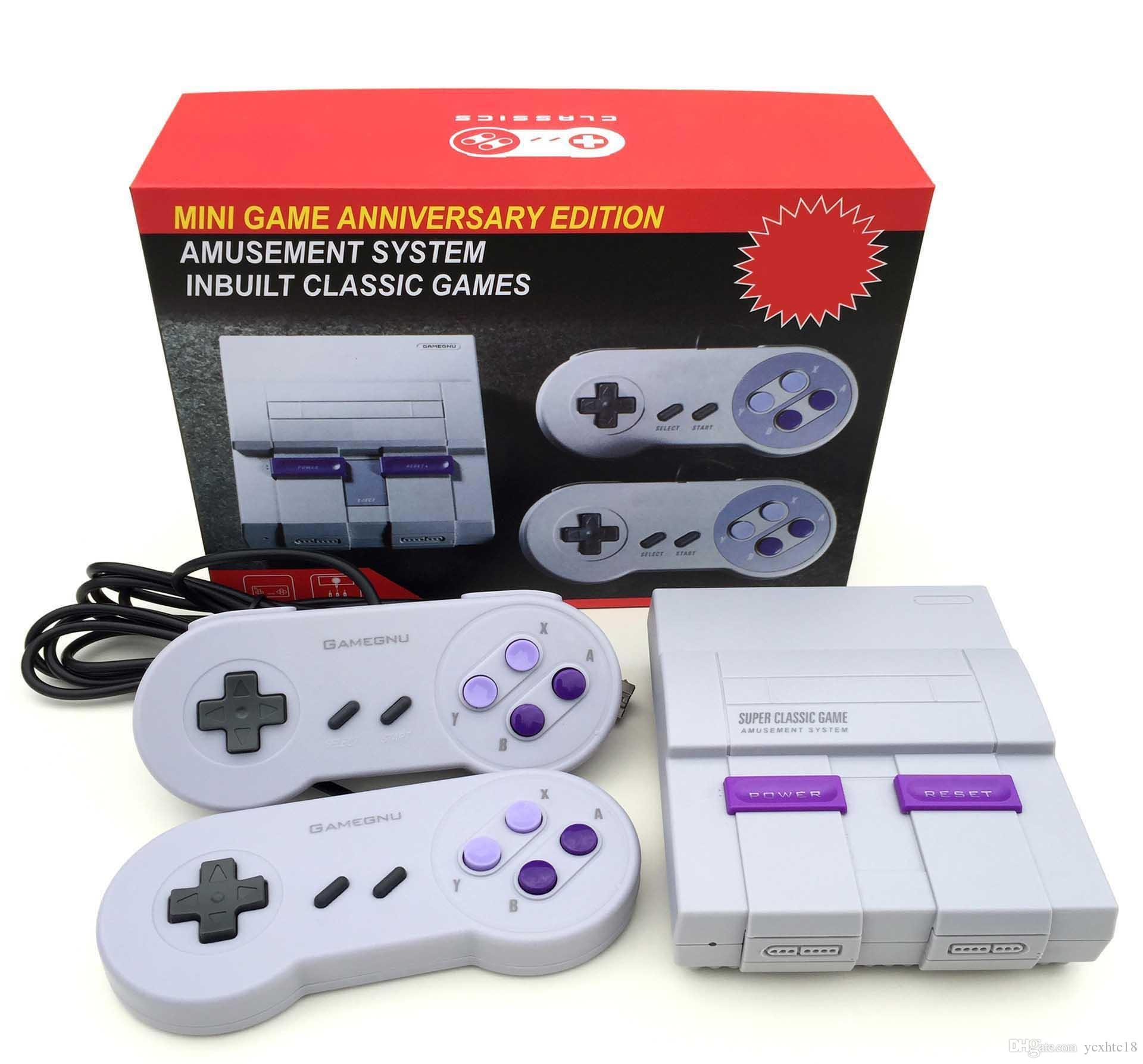 NES Super Classic Snes gry TV wideo Handheld Retro Classic Game Console System Entertainment Również Sprzedaż PXP3 PVP