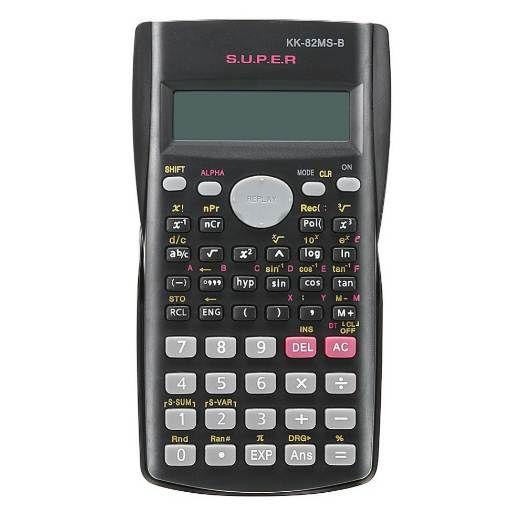Handheld Student Scientific Calculator 2 Line Display tragbaren multifunktionalen Rechner für Mathematik Lehre