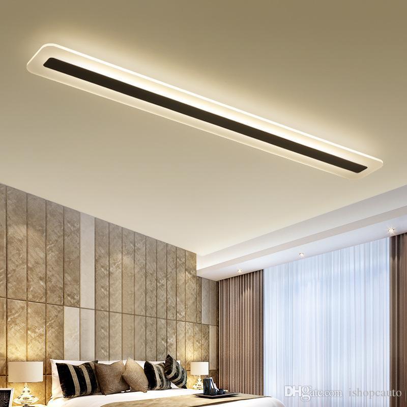 Basit ve Modern LED Tavan Lambası Minimalizm Tavan Işıkları Yaratıcı Oturma Odası Koridor Salonu LED Lamba-I101