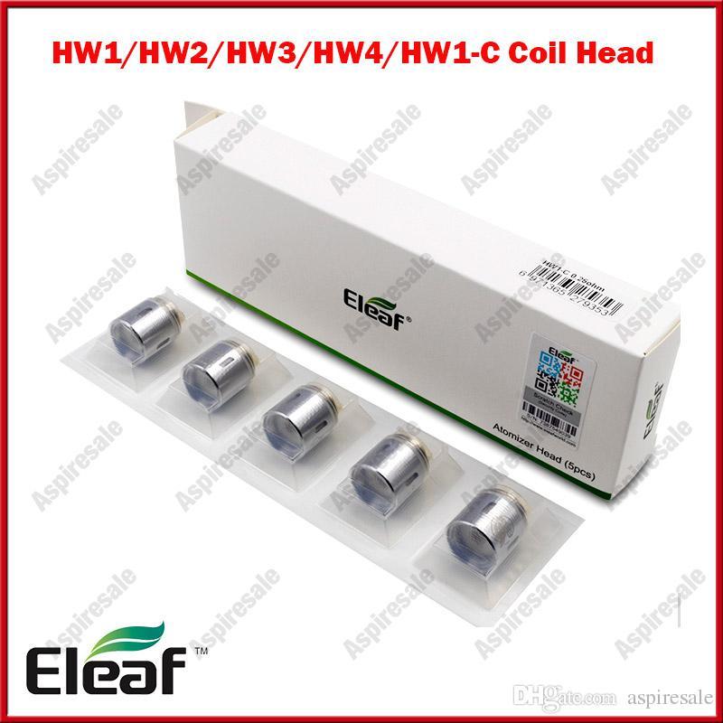 الأصلي Eleaf HW1 HW1-C HW2 Eleaf HW3 HW4 لفائف السجائر الإلكترونية لفائف المبخر يناسب ELLO Tank iJust Nexgen