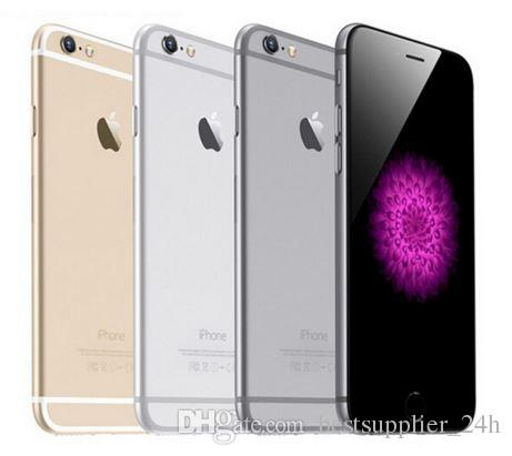 Apple iPhone 6 With Touch ID A+ Unlocked IOS Smartphones 4.7 inch Touchsceen Free Case+Film LTE CMOS Bluetooth Camera refurbished Phone