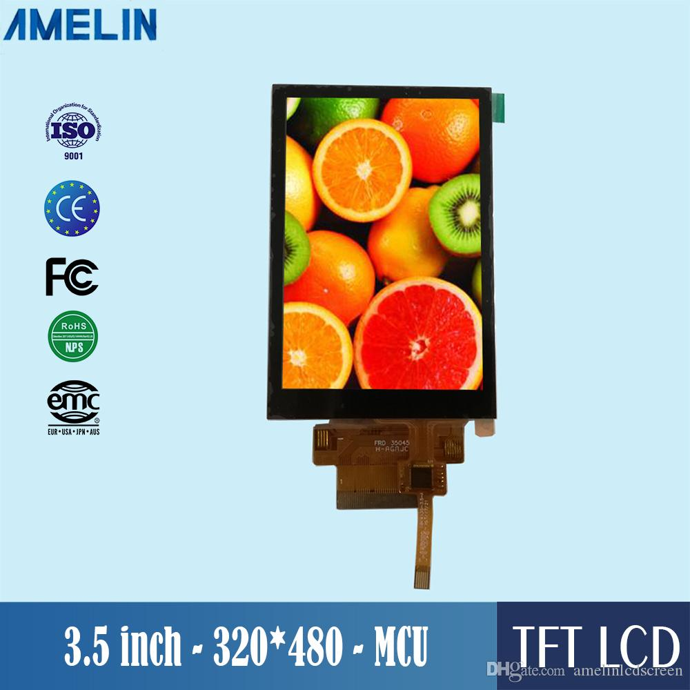3.5 inch 320*480 TFT LCD tablet touch screen display panels with ILI9488 driver IC and MCU interface panel