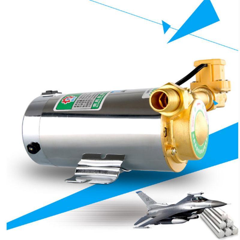 (2 pezzi / lotto) 220V 100W mini pompa di circolazione del richiamo della famiglia per il riscaldamento della doccia