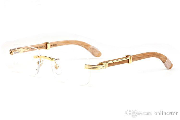 2020 New Mens Bamboo Moda Óculos de Sol Homens Madeira Óculos de sol Mulheres Esporte Attitude Original Wood Buffalo Chifre Óculos Oculo funny2018