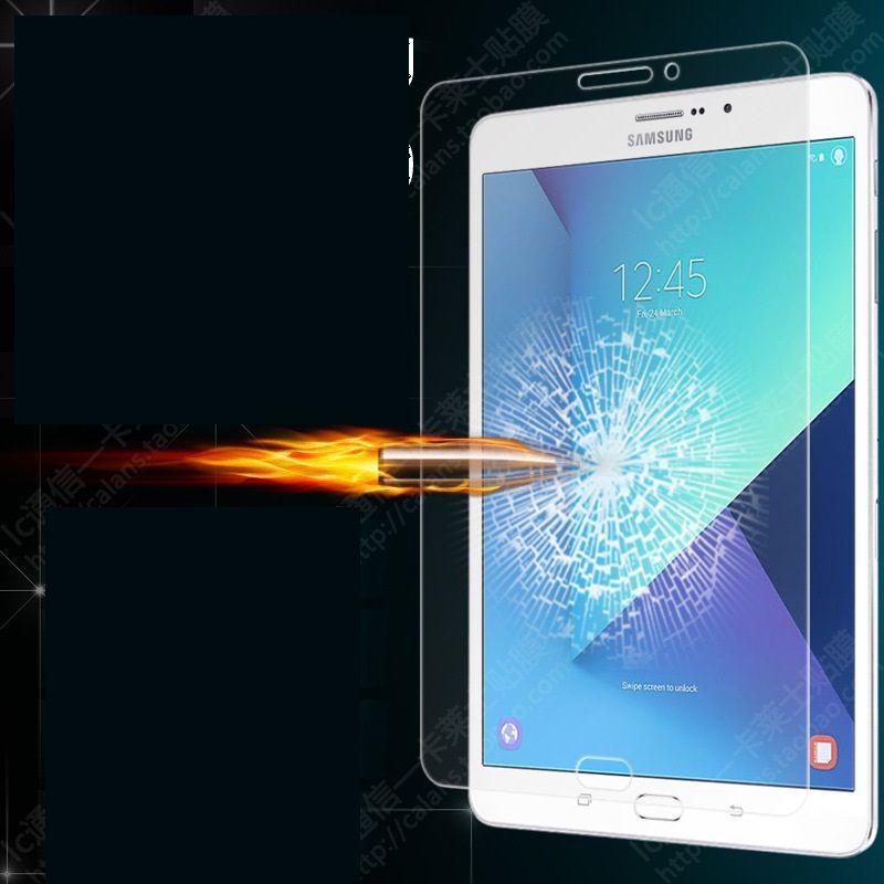 För Samsung Galaxy Tab 4 8.0 T330 T113 P3100 T380 T390 Tab J 7,0 LTE N5100 9H Premium Tempered Glass Skärmskydd 50PCS / Lot