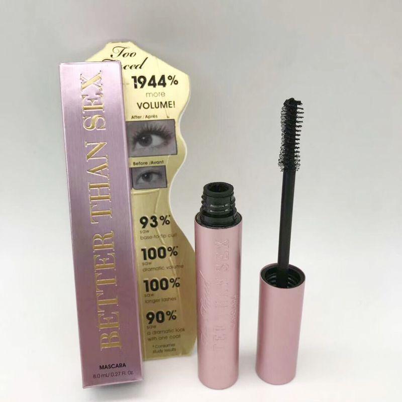 In stock ! New makeup mascara Better Than Sex Lengthening LASH Mascara Black Waterproof 3D Fiber Lashes