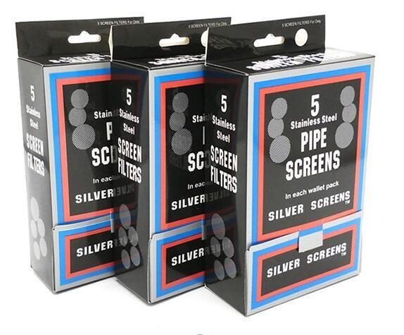 Filtro de pantalla de acero para pipa de tabaco de hierba pipa de budbomb metal toke pipa accesorios de fumar Envío gratis