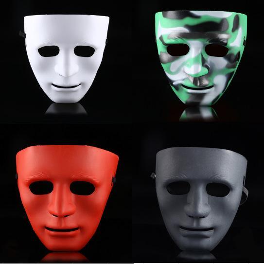 Bboy Masque Hommes Hip-Hop Street Danse Masque Halloween Party Full Visage Masquerade Masques 6 couleurs