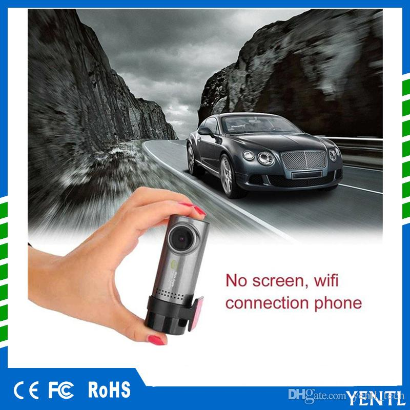 Freies Verschiffen 1080P HD Auto-DVR 330-Grad-Drehung WIFI Anschluss Automobil-Data Recorder