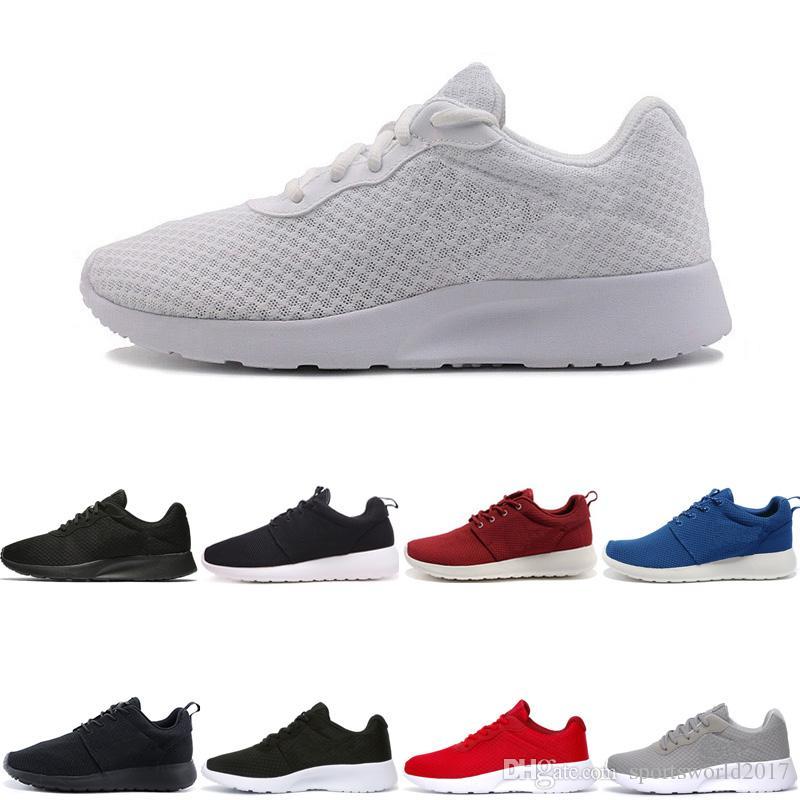 Tanjun 3.0 Tanjun Negro blanco Hombres Mujeres zapatillas 1 London Olympic good Runs mens deportivos Zapatillas de deporte Sneaker tamaño 36-45 envío gratis