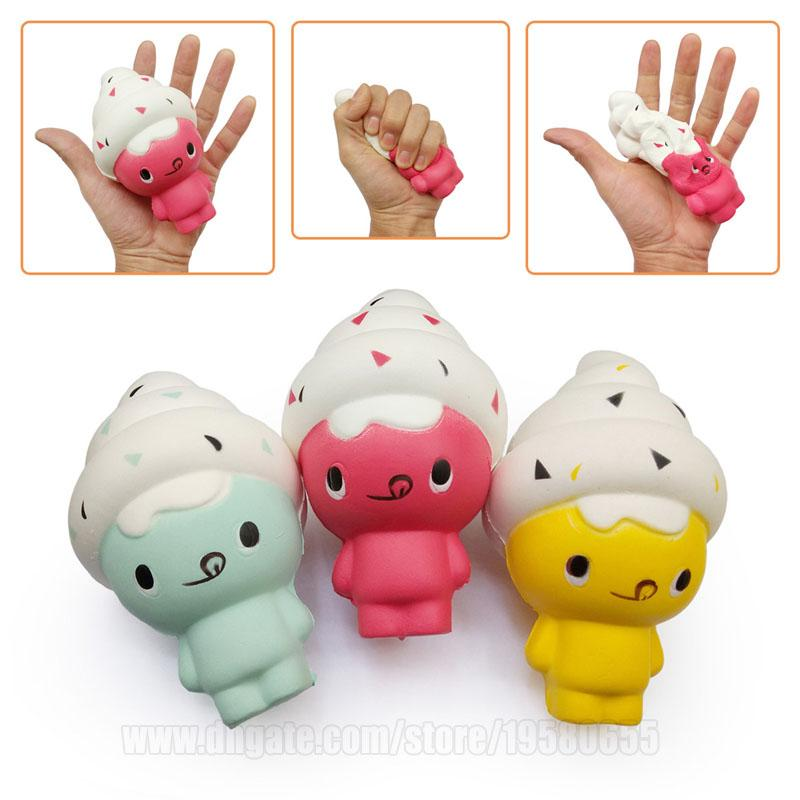 Squishies Doll Ice Cream Kawaii Squishy Scented