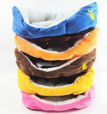 Pet Bed Dog Cat Bed Cotton Warm Dog Beds Pets Products for Puppies Multi Colors Size S L