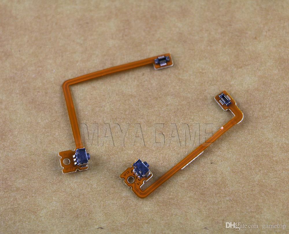 Switch L/R Left Right Flex Button Trigger Shoulder Flex Ribbon Cable For 3DS XL Console For 3DSXL Accessory