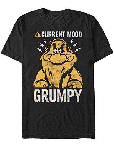 Летние футболки текущее настроение Сварливый футболка-не счастливый (сонный застенчивый) с коротким рукавом футболки