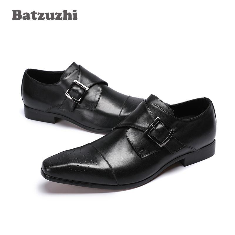 Zapatos de hombre Scarpe in pelle da uomo a punta scarpe da lavoro classiche da uomo in pelle da uomo Scarpe formali vestito di pelle scarpe Zapatos Hombre
