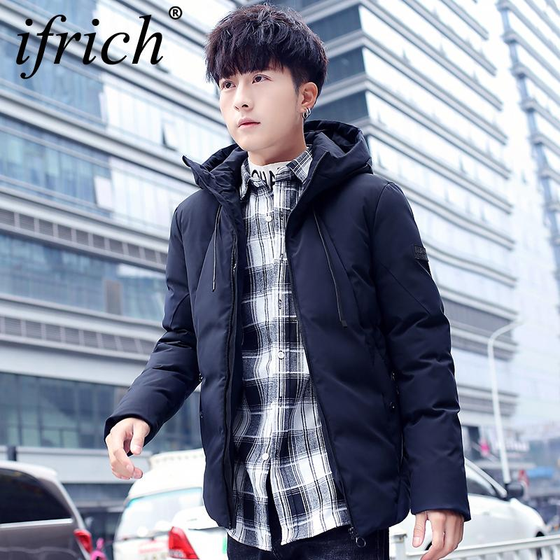 2019 Brand Winter Jacket Men Clothes 2018 Casual Hooded Collar Fashion  Winter Coat Men Parka Outerwear Warm Slim Fit 4XL Korean Mens From  Blueberry15,