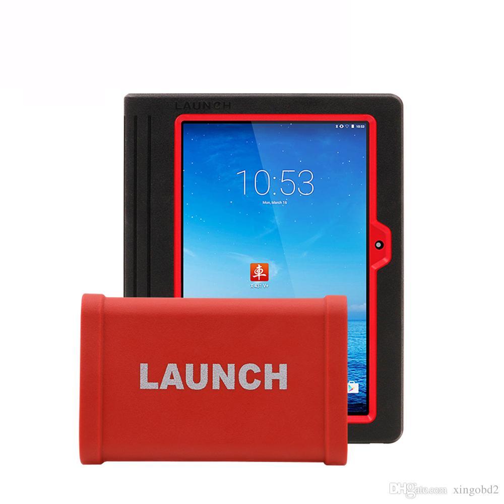 قم بتشغيل X431 V + مع وظيفة Wifi / Bluetooth بالإضافة إلى شاحنات دعم وحدة الشاحنات الثقيلة HD أداة تشخيص