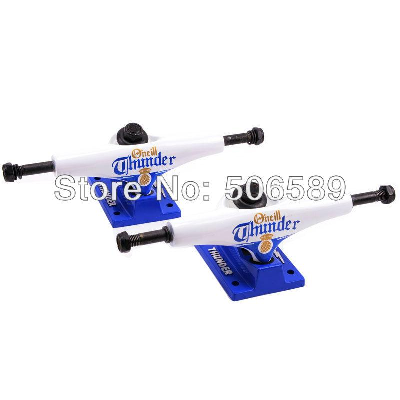 free shipping skateboard truck 5.0 inch white color skateboard parts