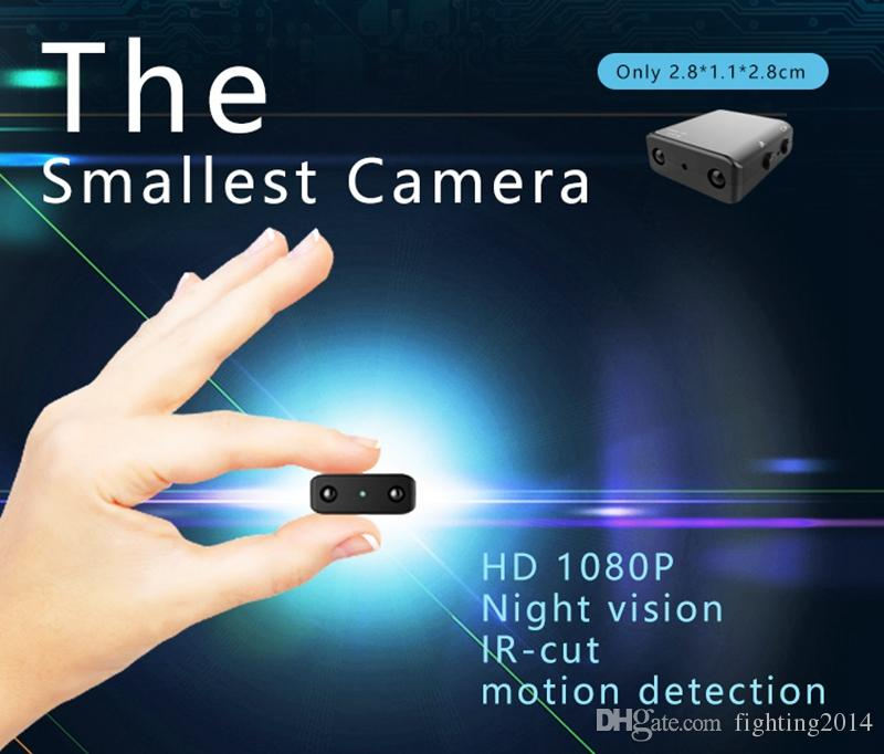 1080P Full HD Mini Spy Camera Infrared IR-CUT Night Vision Hidden Security Micro