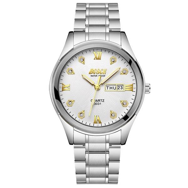 Armbanduhr Kalender Geschenk Reloj Herrenuhr Luxus Uhr Großhandel Männliche Wasserdicht Quarz Mode Leuchtende Von Edelstahl Harrieta Uhren Strass xeBodCr