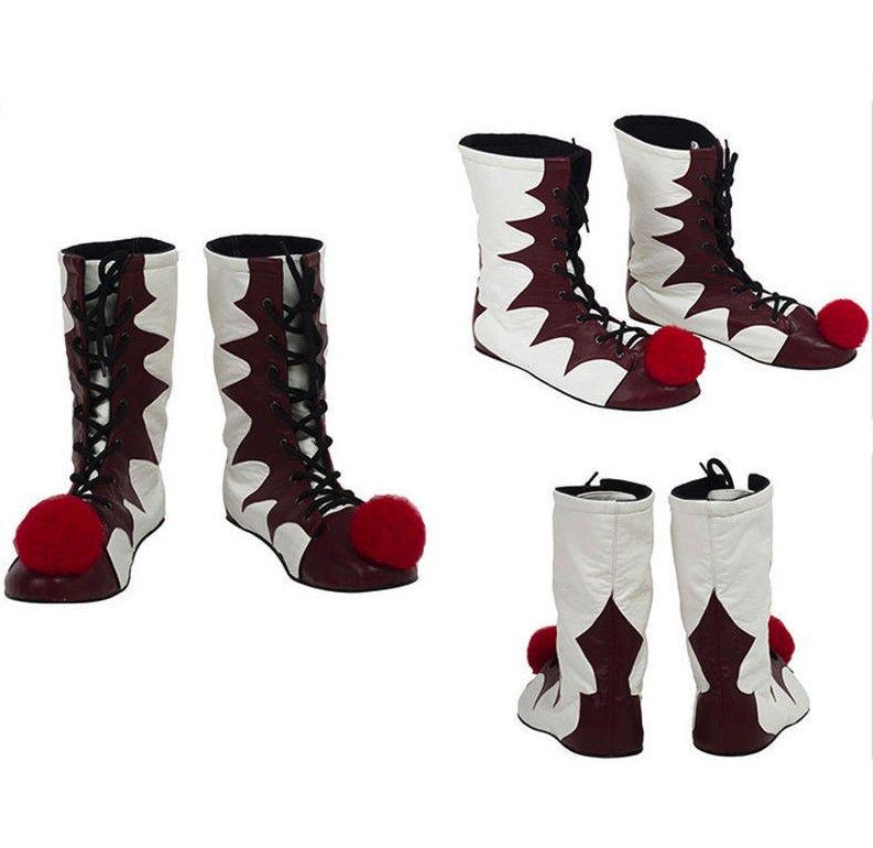 ستيفن الملوك و الأحذية بينيويست المهرج جوكر تأثيري أحذية هالوين زي