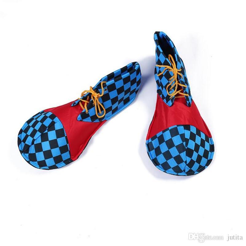 Клоун Обувь Дети Взрослые Косплей Костюм Аксессуары Производительность Реквизит Хэллоуин Карнавал Платье Поставки