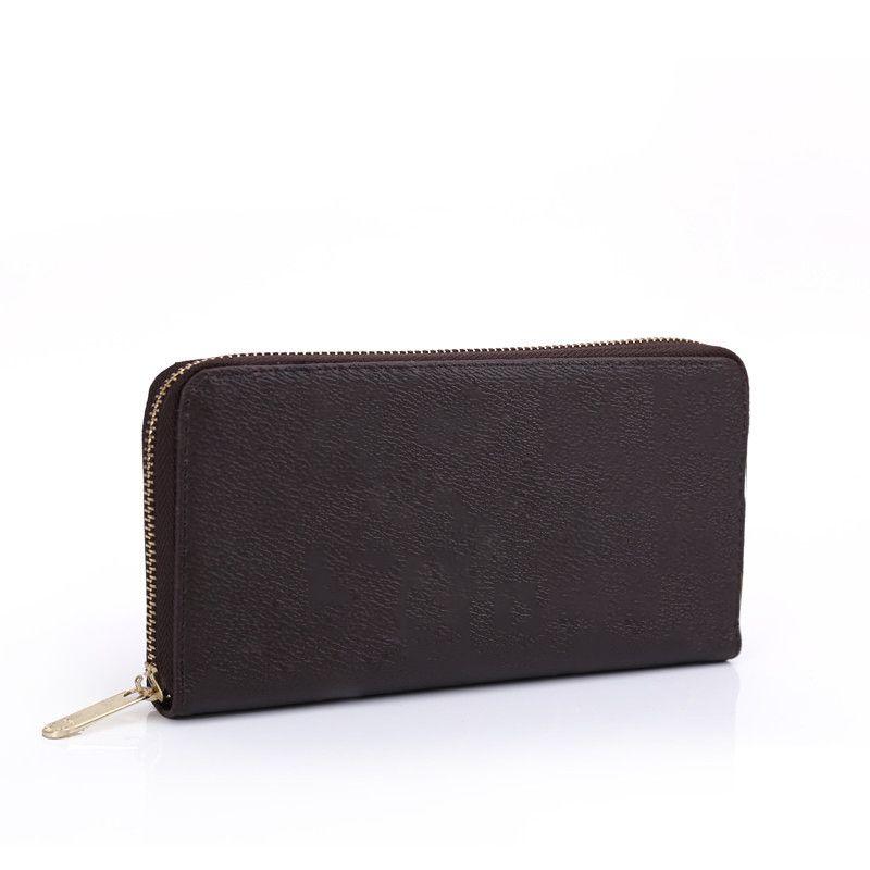 Brand Women Walles Designer Coin Borses 4 Colors PU Design in stile PU con porta carte