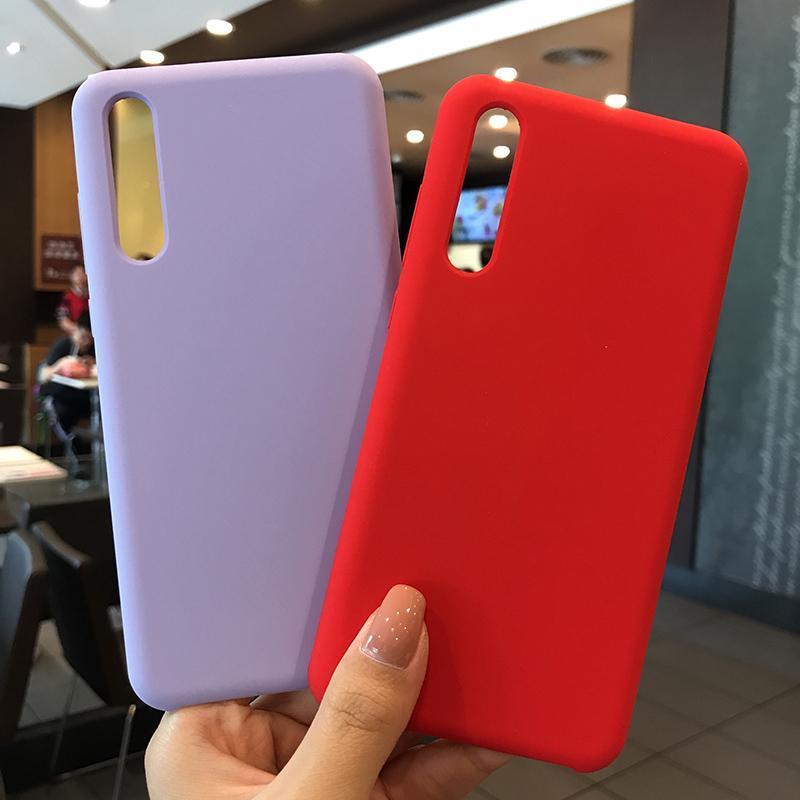 Housses Telephone Portable Coque En Silicone De Style Officiel Pour Huawei P20 P20 Pro P20 Lite Couverture Originale Pour Nova 3e Honor 10 P Smart ...