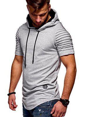 в этом году последняя расслабленная, удобная, взорванная мужская футболка, полосатая манжета и футболка с короткими рукавами для фитнеса.