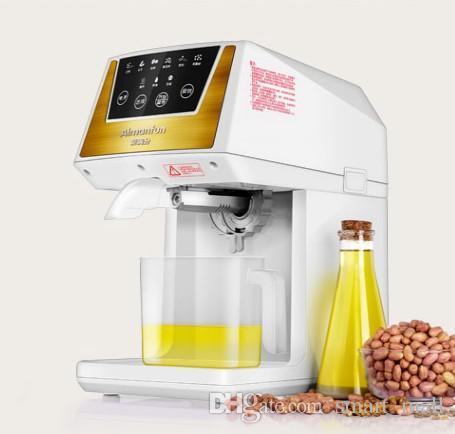 Hot And Cold Oil Presser Pressing Oil High Extractor 300W 220V 50Hz Oil Presser Sunflower Electric Press Machine Squeezer LLFA