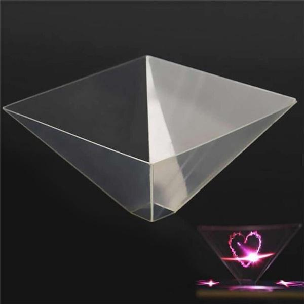 2019 Mobile Phone Simple Holographic Projector Higher Image Quality  Projection Film 3D Hologram Pyramid Magic Projection From Abysmal550, $4 03  |