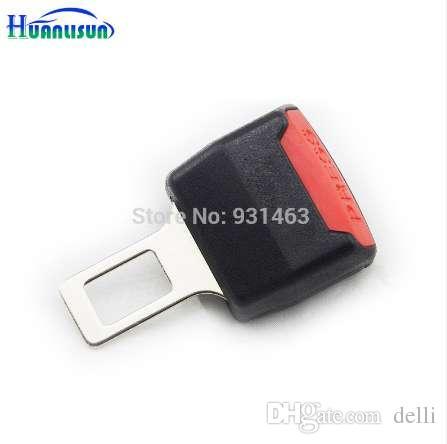 Cinture di sicurezza per seggiolino auto vendita HOT 1Pcs Cintura di sicurezza nera estensibile per cintura universale regolabile