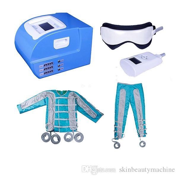 أكياس الهواء ضغط الهواء العلاج بالضغط إزالة التجاعيد آلات العلاج بالتدليك الجمال معدات التخسيس الجسم آلة الدهون آلة buring