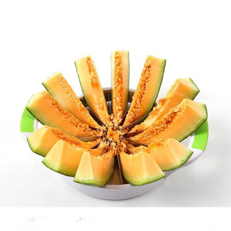 Eco-Friendly Round Watermelon Knife Slicer Cutter Kitchen Cutting Tools Fruit Knife For Watermelon Kitchen Accessories Gadgets