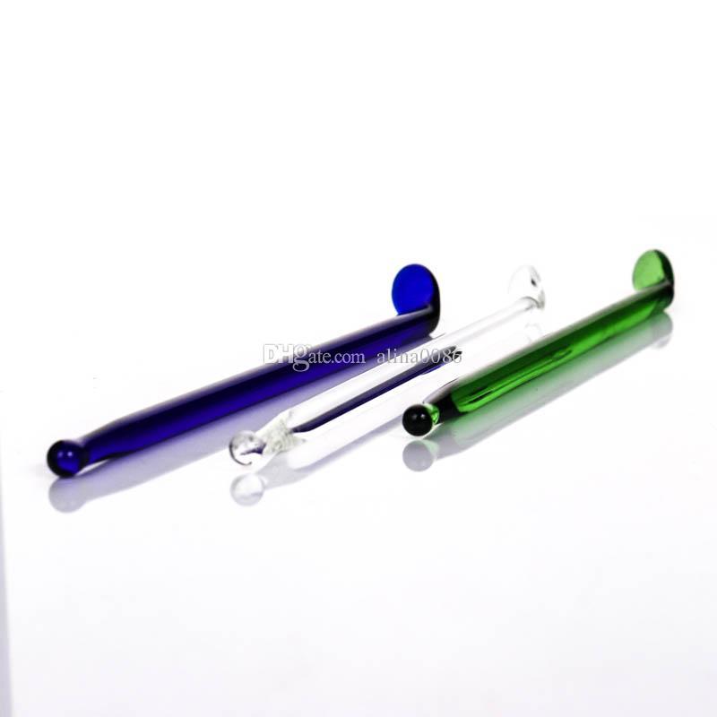 produttore vetro colorato dabber per vetro bong di fumo clear.green.blue dabbers acqua tubo olio rig spedizione gratuita