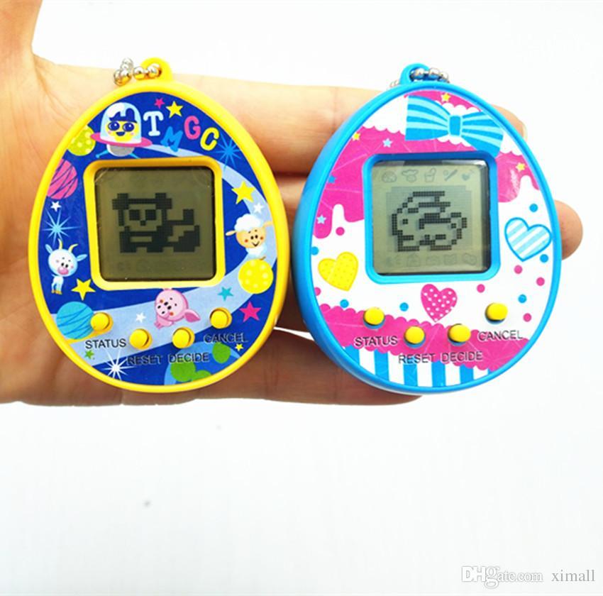 I più recenti giocattoli elettronici per animali domestici Tamagotchi 90S nostalgici 168 animali in un giocattolo virtuale Cyber Pet 6 stile Tamagochi pinguini giocattolo libero DHL