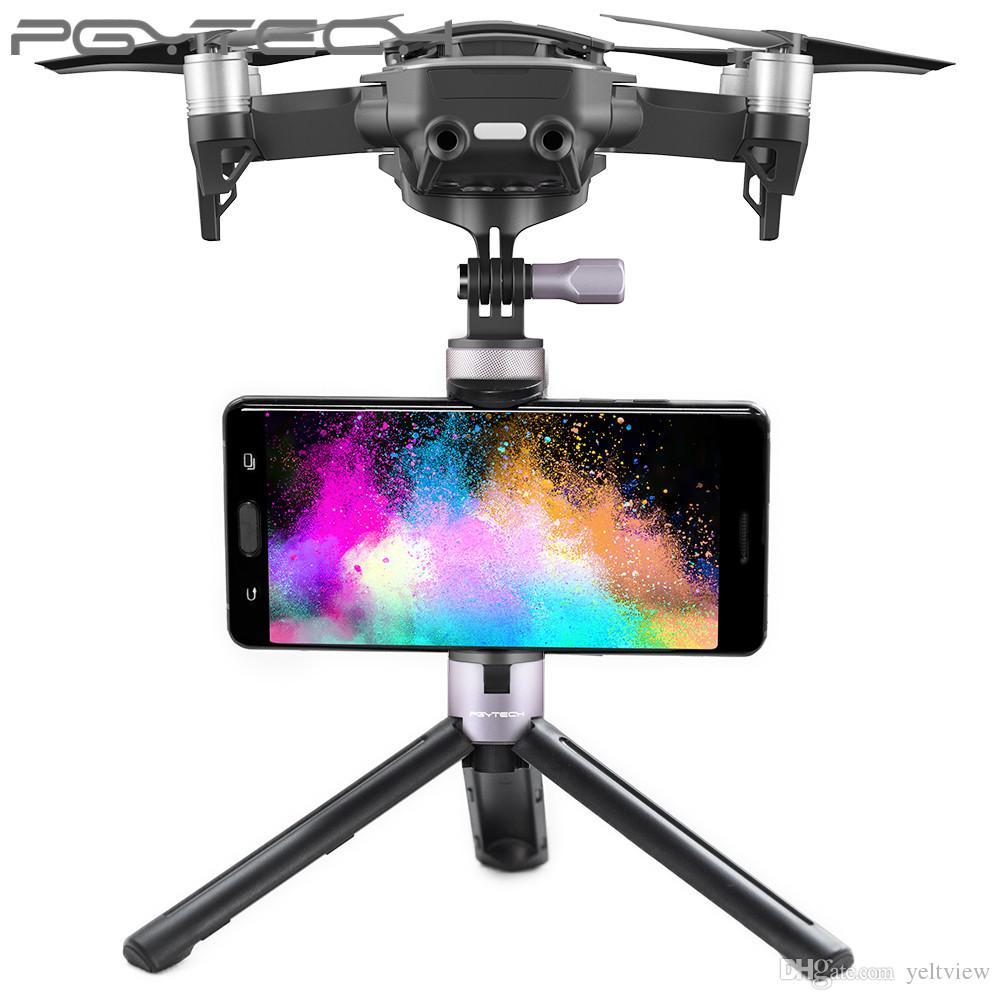PGYTECH Multifunción DJI Mavic Air Selfie Sticks Handheld Gimbal Estabilizador Titular de Acción Cámara Trípode Piernas Monopies Accesorio