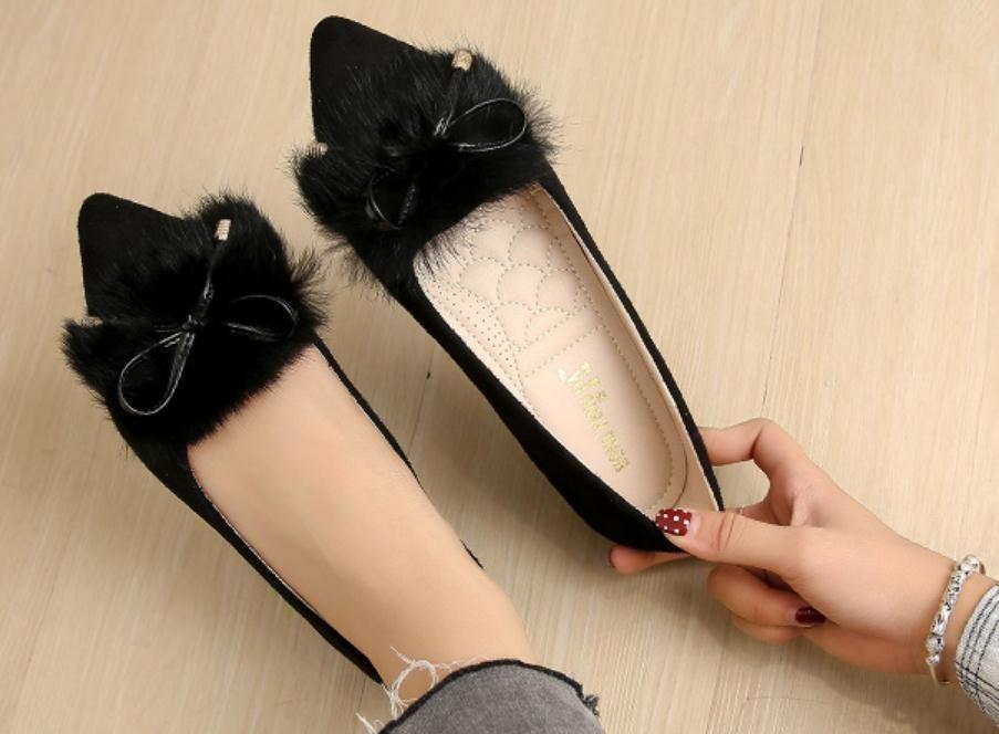 Gratuit envoyer 2018 nouveau style automne fond plat Chaussures simples