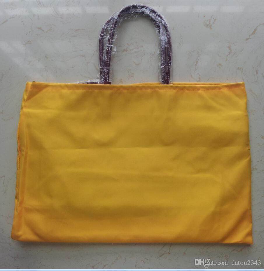 Sac à main design de la marque GY Grand sac à main de haute qualité Sac à provisions en toile souple avec numéro de série
