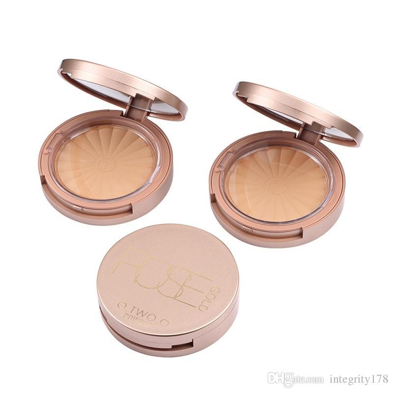 O.TWO.O Marca Fundação Pressionado Maquiagem base de pó cara abrilhantador Oil-controle Hidratante Concealer Primer Pó dos cosméticos