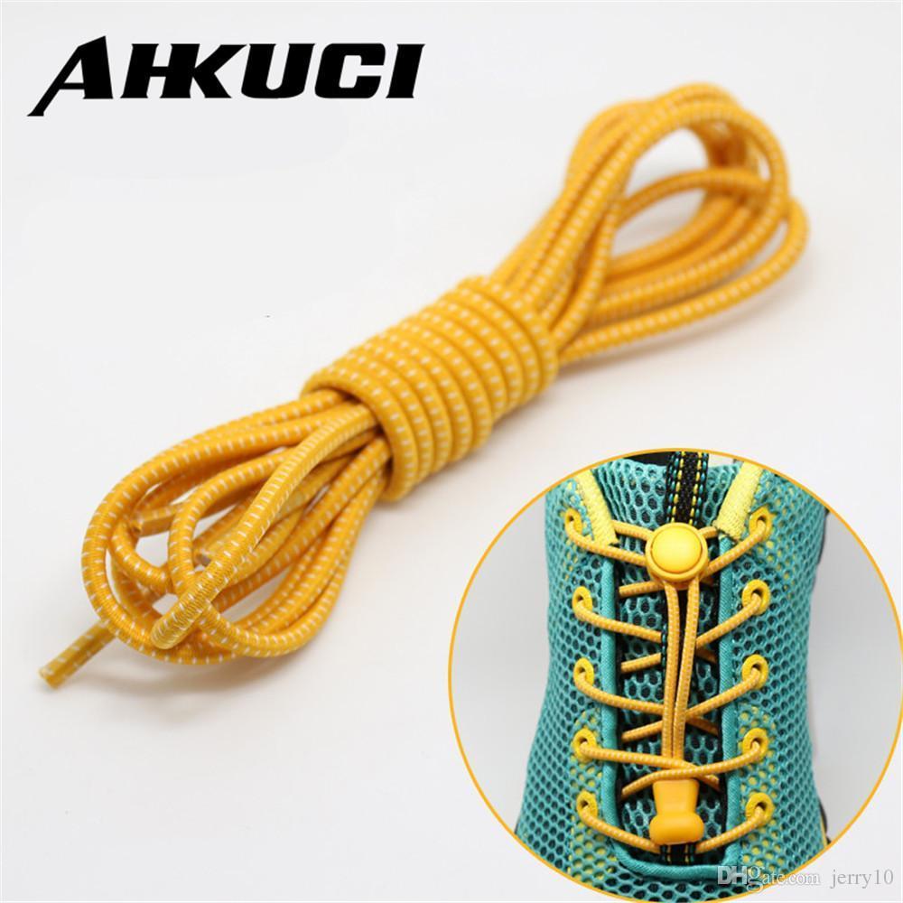 1 paio Chiusura senza cravatta Scarpa pigraLacci sneaker elastiche Lacci delle scarpe per bambini cordoni elastici in pizzo elastico