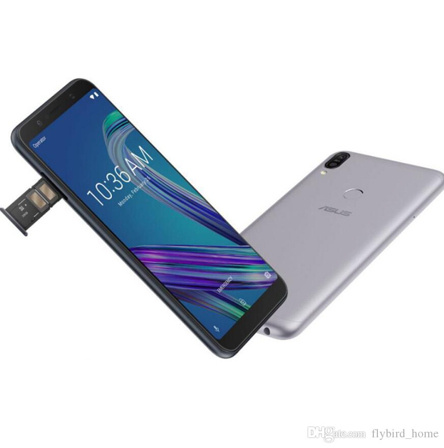 Best Original Asus ZenFone Max Pro M1 ZB602KL SnapDragon 636 Android 8 1  6GB 64GB 6' 18:9 FHD+ Face ID 5000mAh Battery Mobile Phone 3 Slots Best