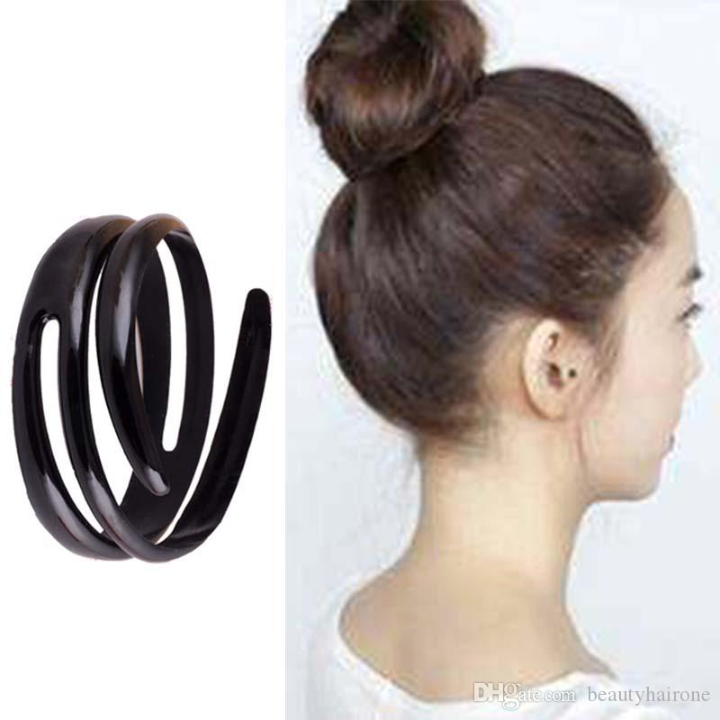 2019 Japan And South Korea Style Hair Bun Maker Tool For Children Ladies Bun Balls Spiral Plastic Hair Styling Tools Abs Resin From Beautyhairone