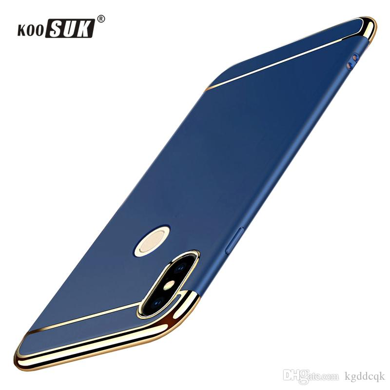 new concept 2e22f bdfd6 2018 Original Xiaomi Redmi Note 5 Pro Phone Case Back Cover For Redmi Note5  Pro 5.99 Slim PC Hard Shell Protection Cases Leather Cell Phone Case ...