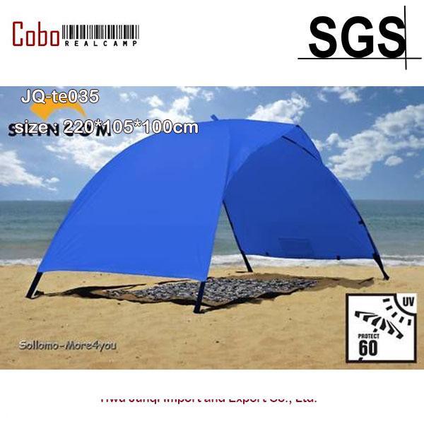 premium selection b16e6 11da4 Blue Solar Tent Easy For Two Beach Cover Sun UV Shade Tent Canopy Tarp  Shelter Folding Tent Car Tents From Capsicum, &Price;| DHgate.Com