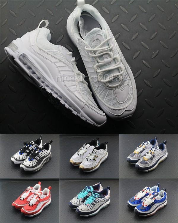 Mens 98 Gundam X OG blu nero uomo scarpe da corsa sneakers Limited Sneakers Scarpa sportiva Moda da corsa Runner Uomo Donna Trainer di personalità