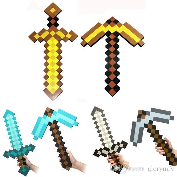 Elmas kılıç meşale meşale coolie korku çanta silah modeli mavi kılıç gri kılıç çocuk doğum günü hediyesi