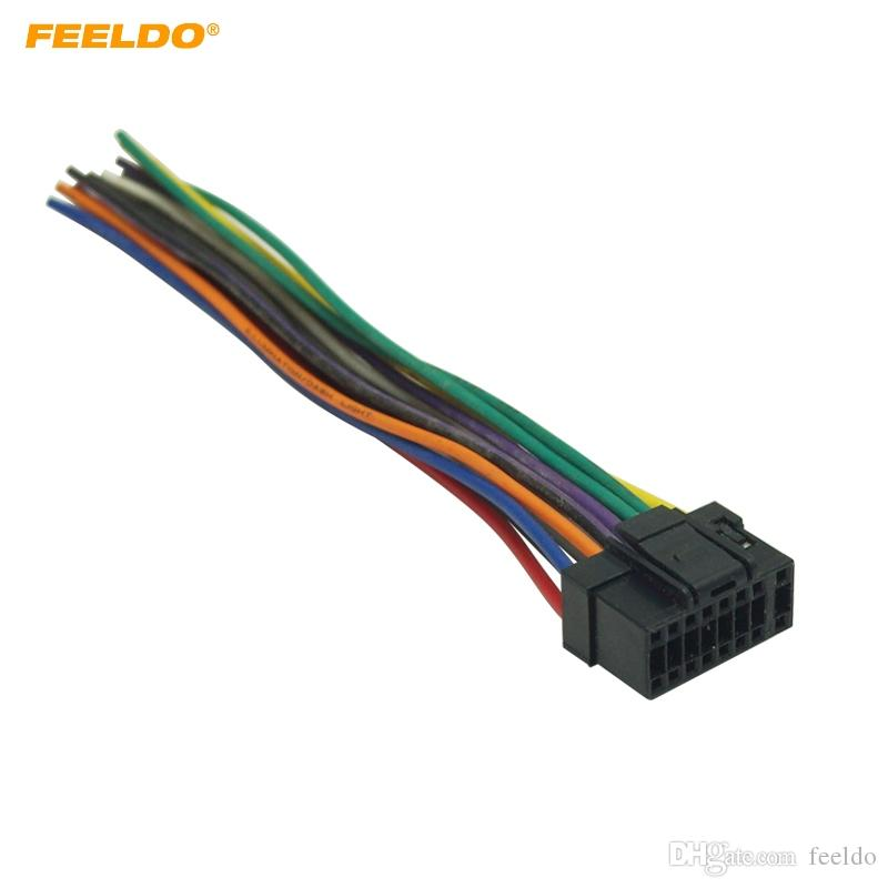 car wiring harness plug 2020 feeldo universal 16pin car wire harness adapter connector  2020 feeldo universal 16pin car wire