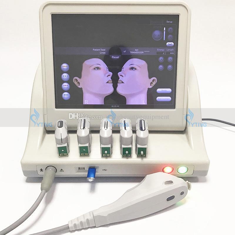 새로운 휴대용 hifu 기계 고강도 초점을 맞춘 초음파 hifu 얼굴 리프트 바디 피부 리프팅 기계 주름 제거 미용 시스템