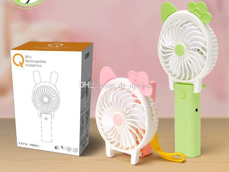 Da WA plegable Mano Ventilador port/átil chino Fan Wave patr/ón ventiladores de mano para decoraci/ón del hogar